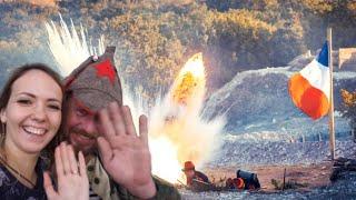 Опять взрывы и солдаты. Такого ещё не было! Военно-исторический фестиваль. Федюхины высоты.Крым 2018
