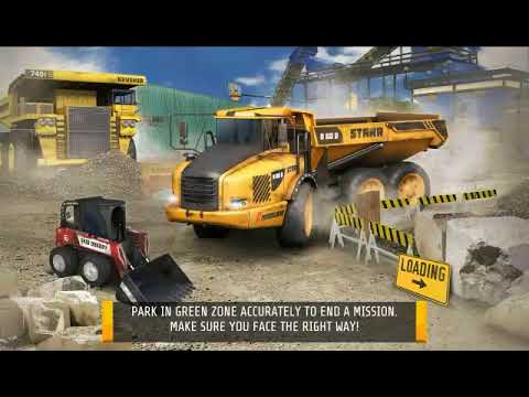 Quarry driver 3: giant trucks android gameplay free car games.