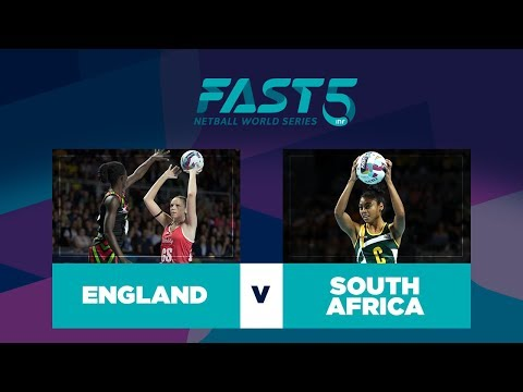 England V South Africa | Fast5 World Series 2017