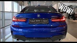 2019 BMW 3 Series 320d M Sport G20 xDrive INTERIOR SOUND and REVIEW