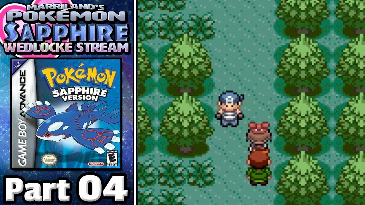 Pokémon Sapphire Wedlocke Part Fight In The Woods YouTube - Marriland state