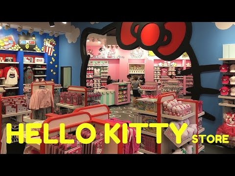 Hello Kitty Store now open at Universal Studios Florida