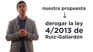 Derogar la Ley 4/2013 de Gallardón del CGPJ. Eduardo Santos.