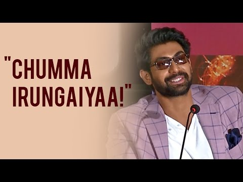 "Thumbnail: Rana Daggubati - ""I Always Wanted to See Me On A TAMIL POSTER"""