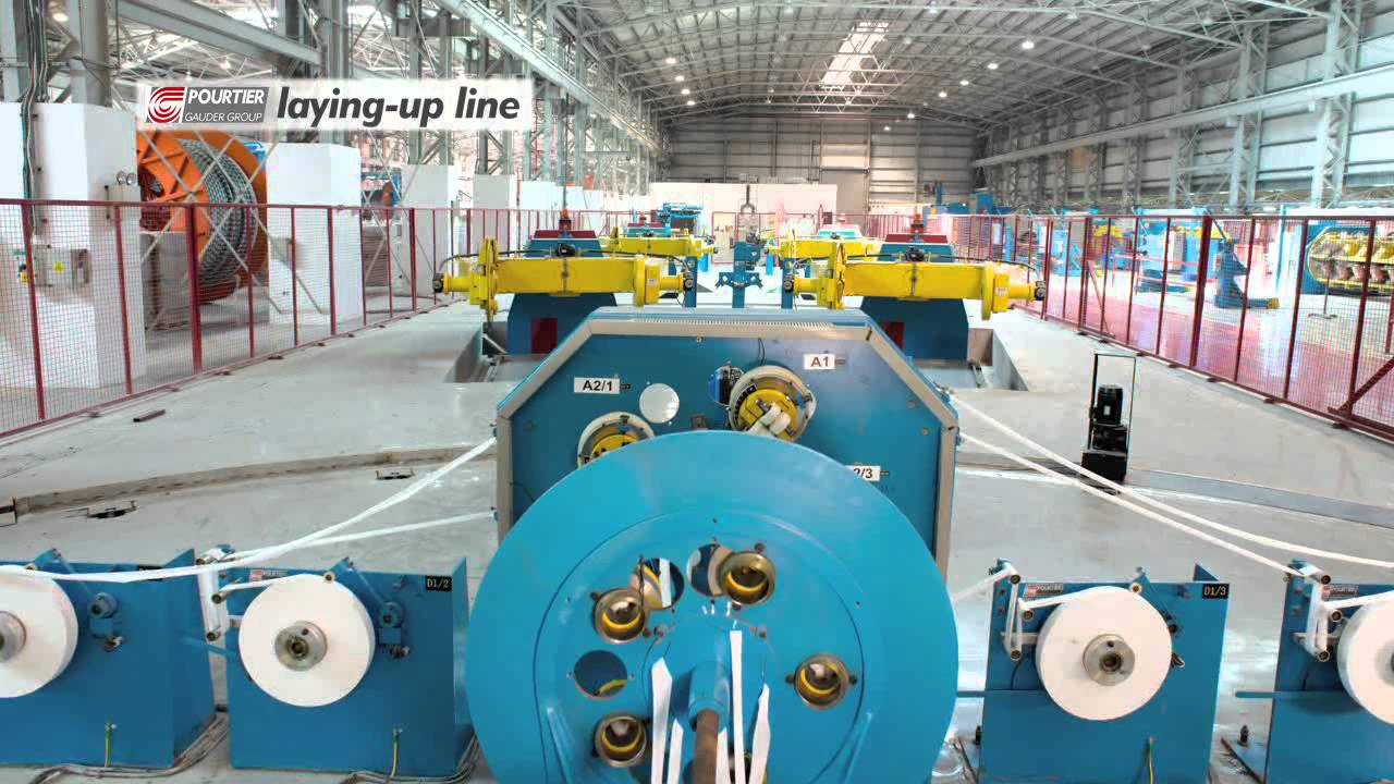 High Voltage Cable Plant Pourtier Laying Up Line Youtube