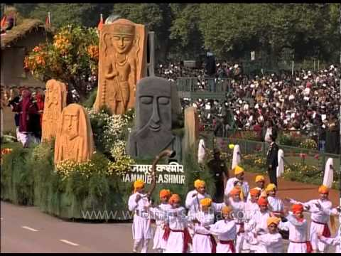 Tableau of Jammu and Kashmir on R-Day