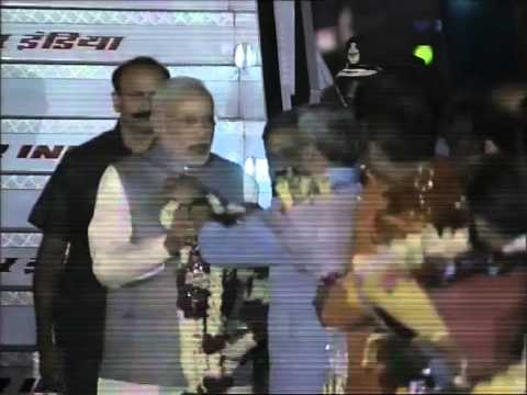 PM Modi arrives in Delhi after his visit to China, Mongolia & South Korea