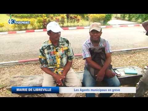 GABON / MAIRIE DE LIBREVILLE :  LES AGENTS MUNICIPAUX EN GREVE