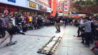 Skate the World in 30 Days | China Detroit LA Mexico Chile