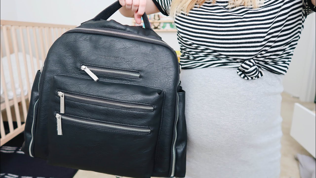Honest Company Cross Country Diaper Bag Review