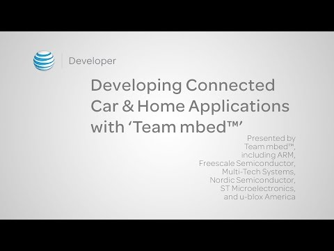 Developing Connected Car & Home Applications with 'Team mbed™'