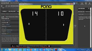 Atari Anniversary Edition - PS1 - PONG (Test Video)