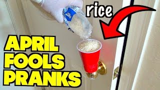 5 April Fools' Day Pranks You Can Do On Anybody- HOW TO PRANK (Evil Booby Traps)