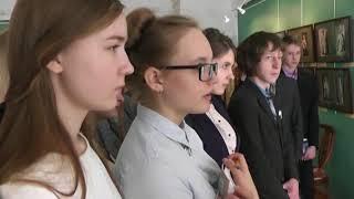 Урок литературы в музее Красовская ЮП