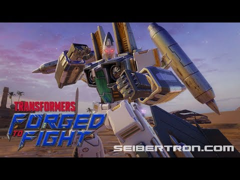 Transformers Forged to Fight RAMJET vs ULTRA MAGNUS Exclusive video
