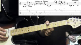 Stevie Ray Vaughan - Little Wing - Blues/Rock Guitar Lesson Part1 (w/Tabs)