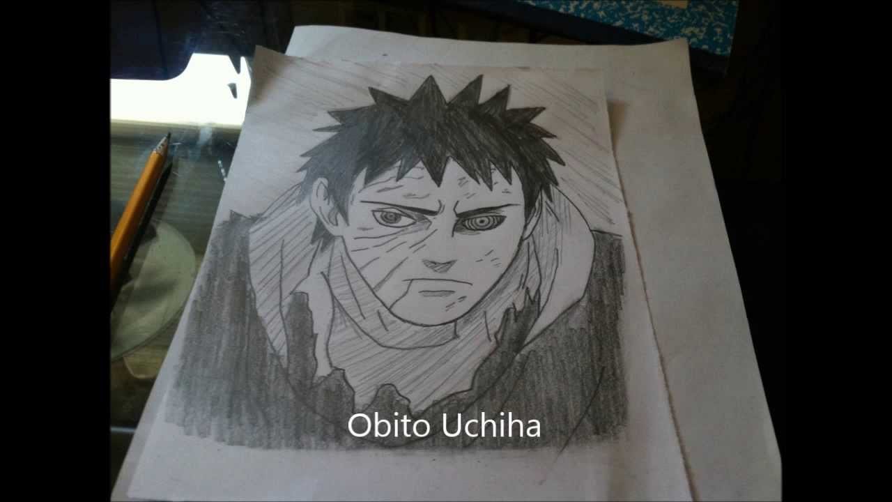 How to Draw Obito Uchi...