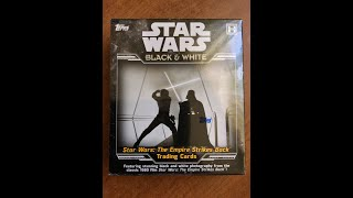 Кино-брейк 9 декабря 2019. 2019 Topps Star Wars Empire Strikes Back Black & White