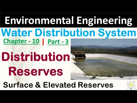 Water Distribution reserves | Water Distribution System in Hindi |Part - 3 | Environment Engineering