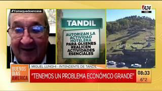 """El intendente de Tandil pidió ser """"una zona sana"""""""