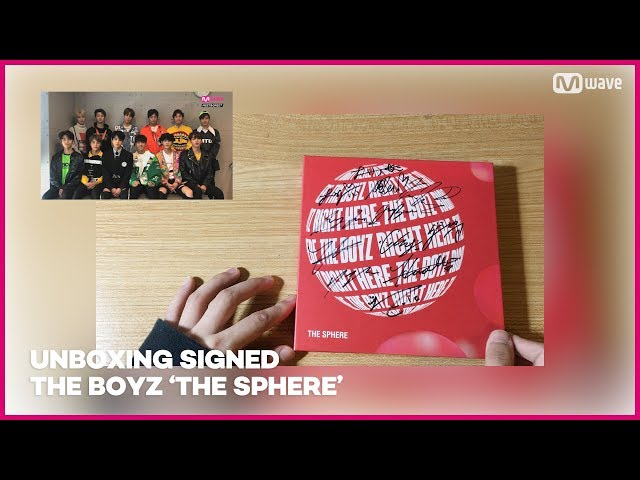 [MEET&GREET] Unboxing Signed THE BOYZ 'THE SPHERE' Album