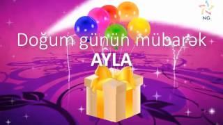 Doğum günü videosu - AYLA