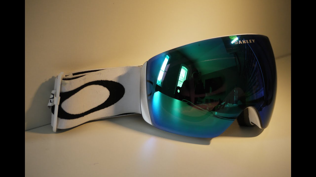 flight deck ski goggles  FULL Oakley Flight Deck Goggle Review! - YouTube
