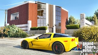 GTA 5 REAL LIFE MOD #394 NEW HOUSE !!! (GTA 5 REAL LIFE MODS)