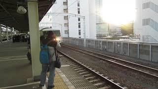 臨時列車静岡DCオープニングトレイン号185系静岡駅発車