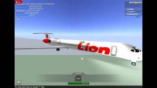roblox lion air md-83 flight 22 august