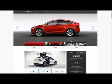 Tesla Model X Production Design Studio Walkthrough