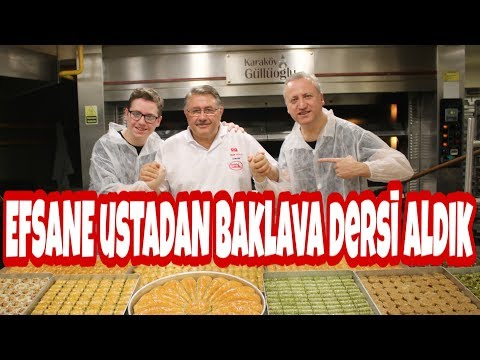 Efsane Ustadan Baklava Dersi Aldık - Karaköy Güllüoğlu