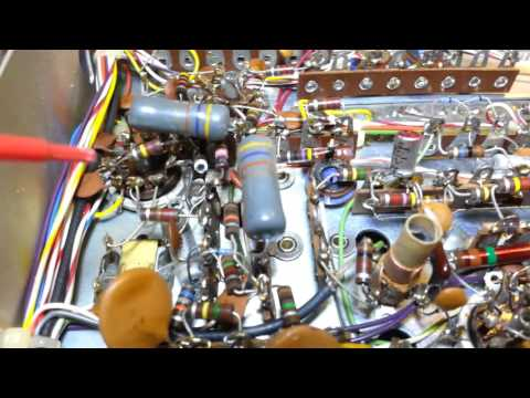 Tram D201 Hand Wired No AM Receive Repair And Restoration Part 1