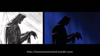 Batman The Animated Series: From Storyboard to Animation (Mask Of The Phantasm)