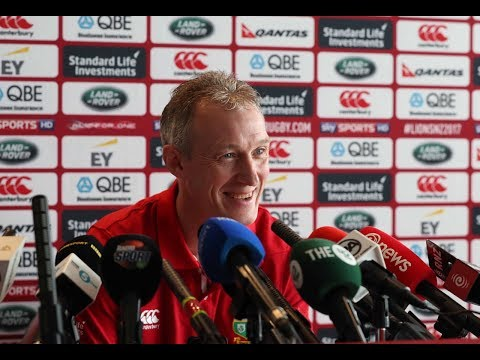 Press Conference: Howley believes Lions will embrace occasion | Lions NZ 2017