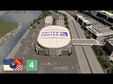 Cities: Skylines - United Center [Belvedere, Ep. 4]