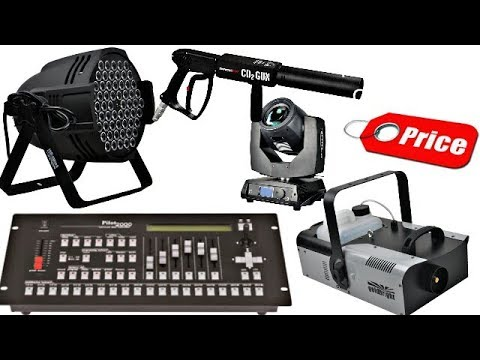 Dj Light Sharpy laser light dj Led Smoke Machine & Co2 Gun Pilot 2000 Dmx Price In Hindi