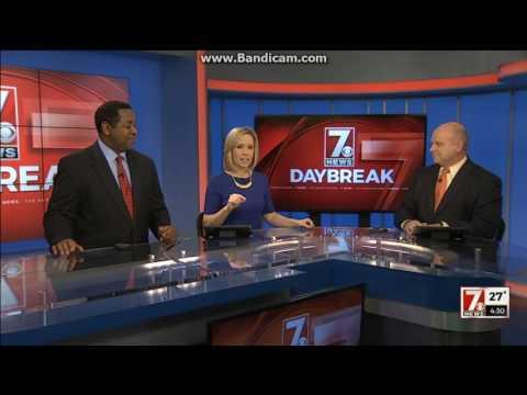 WSPA 7 News Daybreak at 4:30am open January 10, 2017