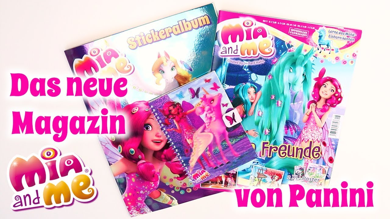 Mia and me Magazin August