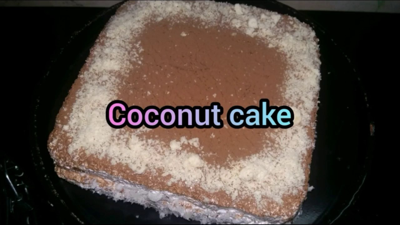Coconut cake recipe malayalam without oven simple and easy ...