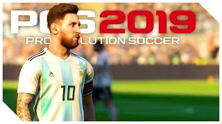 BRUTÁLIS GÓLOK LEO MESSITŐL ⚽ Pro Evolution Soccer 2019 DEMO