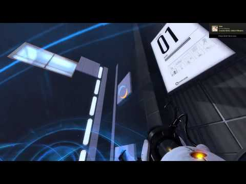 portal 2 single player maps