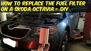 How to change your fuel filter on a Skoda Octavia TDI