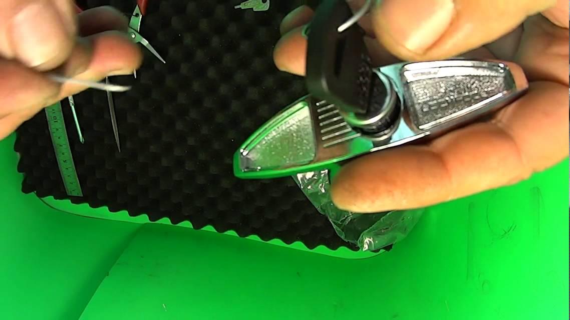 T Handle Garage Lock Barrel Install