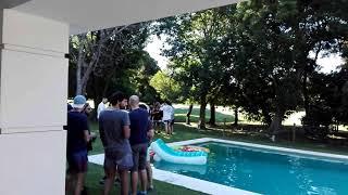 Pool party en club de campo Abril