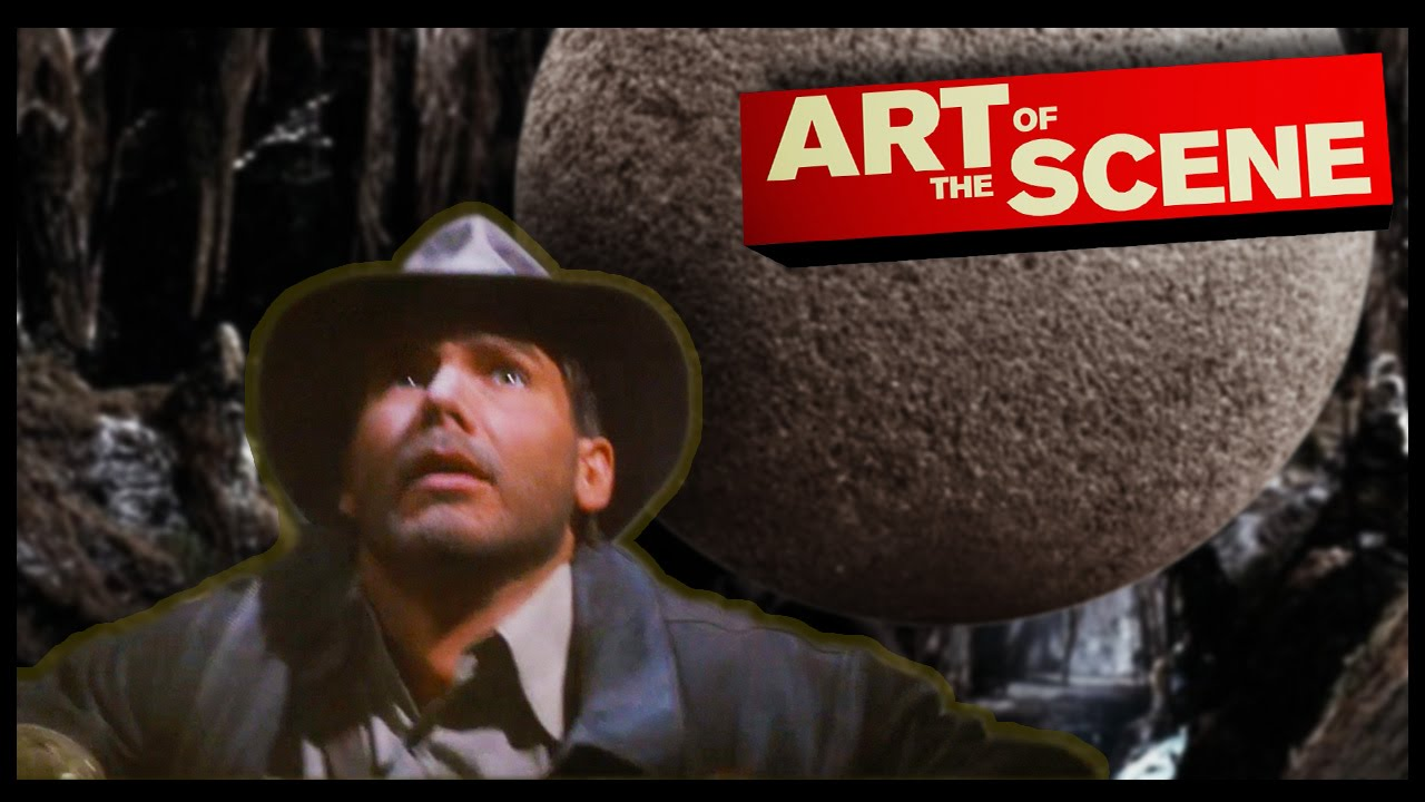 a7b77382fed Raiders of The Lost Ark's Boulder - Art of the Scene - YouTube