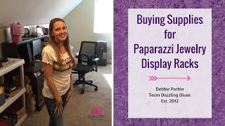 Buying Supplies for Paparazzi Jewelry Display Rack Thumbnail
