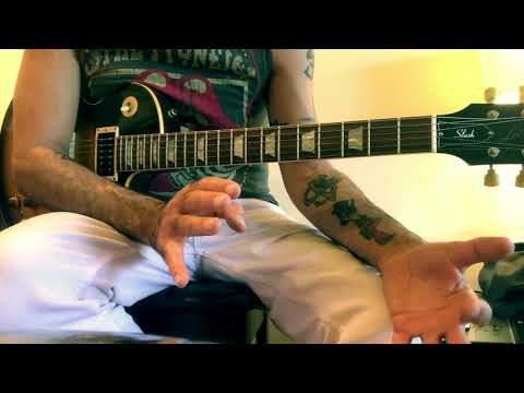 "Slash/Blues Lick Lesson #15 with G# ""The Resolve"""