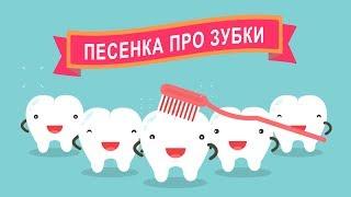 Песенка про зубки Как чистить зубы Русская Версия