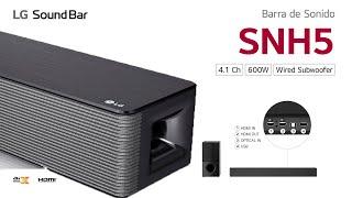 Conoce más sobre LG Electronics:LG SNH5